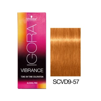 NEW VIBRANCE 9-57 Extra Light Blonde Gold Copper