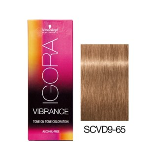 NEW VIBRANCE 9-65 Extra Light Blonde Chocolate Gold