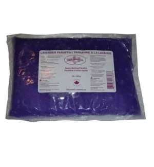 1LB LAVENDER PARAFFIN WAX 450g BAG SHARO
