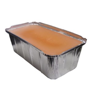2lb Peach Paraffin BLOCK BULK