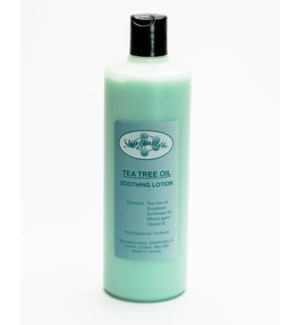 16oz Tea Tree Oil After Wax Lotion SHARO