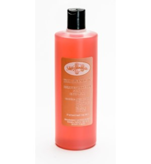 16oz Peach Wax Cleaner Oil SHARONELLE