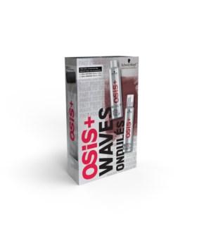 OSIS WAVES Gift Set HD2021 FAB FOAM + SPARKLER
