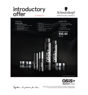 ! OSIS SESSION Label Deal YEAR ROUND