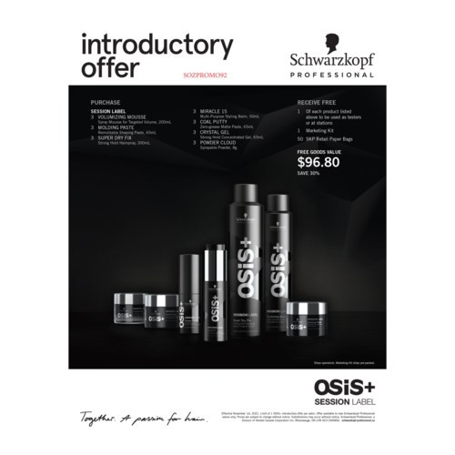 ! OSIS SESSION Label Deal YEAR ROUND CNBO