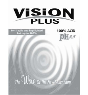 * Vision Plus PH5.5 100 Acid Gray Perm
