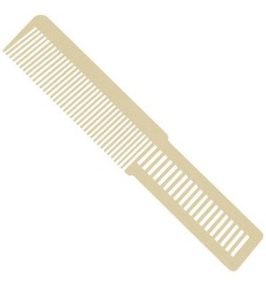 Small Clipper Cut Comb (beige) 053196