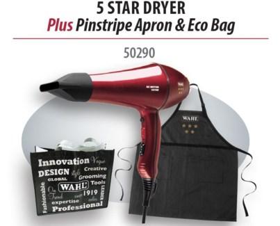 5 Star Dryer + Pinstripe Apron