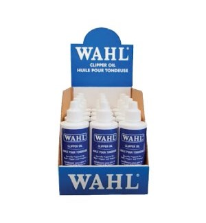 WAHL Clipper Oil 12 Pack in Display Tray (118.3ml x 12)