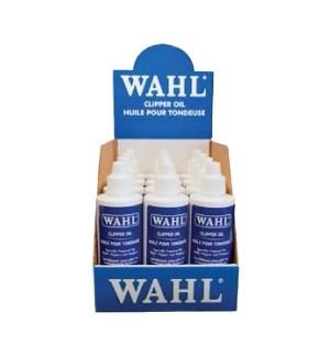 12PK Wahl Hair Clipper Oil 4oz 53320