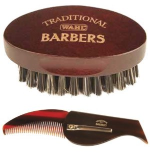 Traditional Beard Brush & Comb Set
