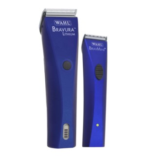 ! Royal Blue Bravaura Bravmini Combo + Mirror & Disinfectant SO19