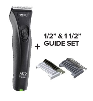 """! Lithium Arco Cordless Clipper + 1/2"""" & 1 1/2"""" Guide Set JF2020"""