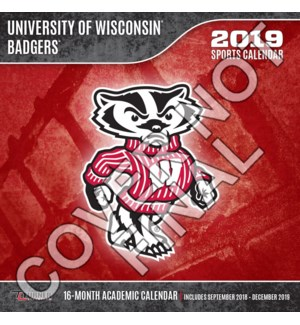 MINICAL/Wisconsin Badgers