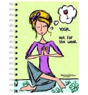 SPRLJRNL/Sketchy Chics Yoga