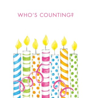 BD/Who'S Counting