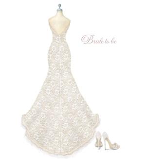 WD/Bride-To-Be Dressform