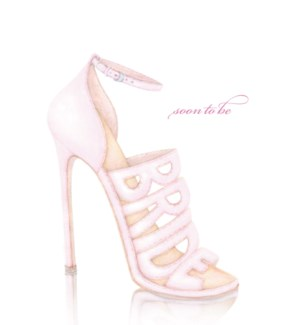 WD/Soon To Be Bride Shoe