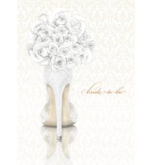 WD/Bride Shoe Bouquet