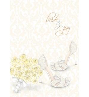 WD/Yellow Bouquet Bride Shoe
