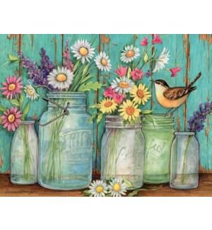 BXNCARD/Flower Jars