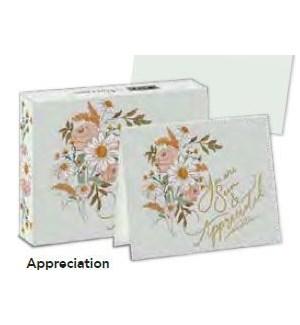 BOXEDNOTECARD/Appreciation