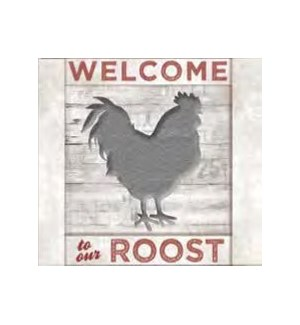 SIGN/Cardinal Rooster