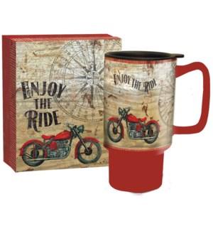 TRVLMUG/Vintage Motorcycle