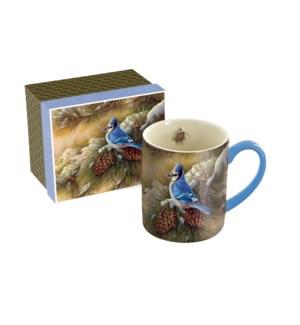 MUG/December Blue Jay