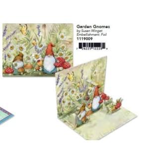 POPUPNOTECARD/Garden Gnomes