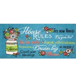 COIRMAT/House Rules