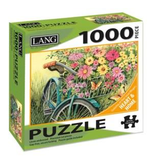 PUZZLES/1000PC Bike Bouquet