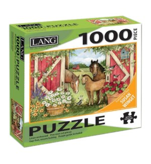 PUZZLES/1000PC Heartland Barn