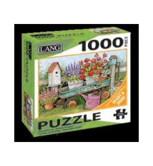PUZZLES/1000PC Blue Wagon