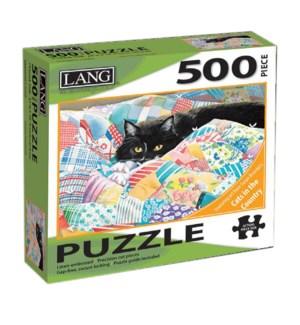PUZZLES/500PC Grandma's Quilt