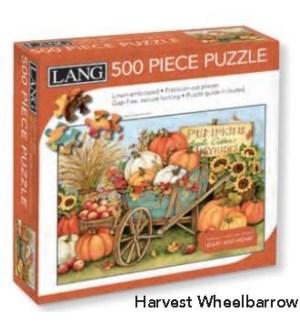 PUZZLES/500PC Harvest Wheel