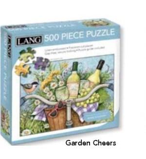PUZZLES/500PC Garden Cheers