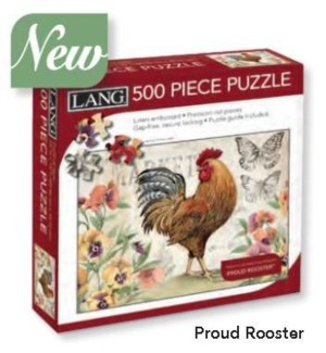 PUZZLES/500PC Proud Rooster