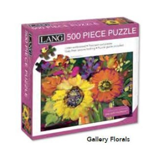 PUZZLES/500PC Gallery Florals