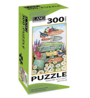 300PUZ/Garden Sign