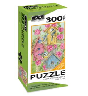 PUZZLES/300PC Birdhouse Gate