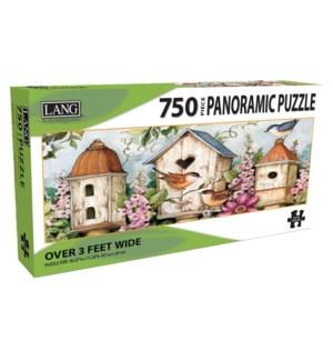 750PUZ/Birdhouse Garden*