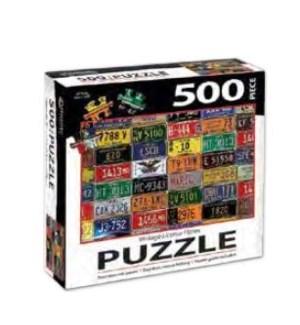 PUZZLES/500PC License Plates