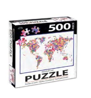 PUZZLES/500PC World Of Love
