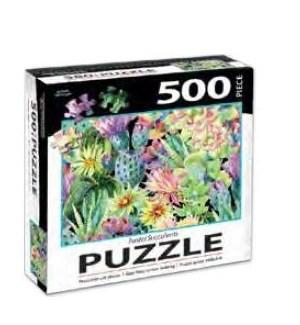 PUZZLES/500PC Succulents