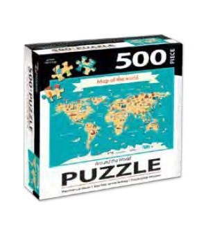 PUZZLES/500PC Around The World