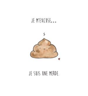 DE/DésoléÁ Je Suis Merde