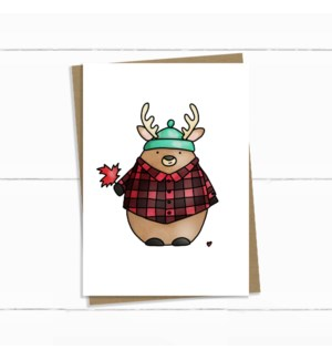 EDB/Hoser Deer In Plaid