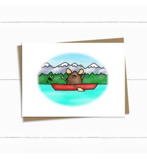 TH/Moose In A Canoe