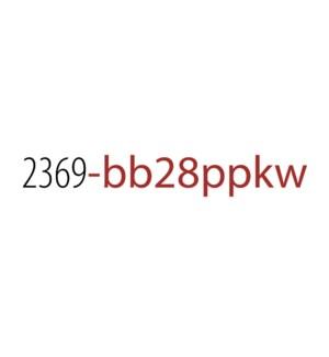 PPKW/Baun Top 28 No Disp*